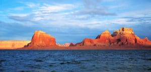 Lake Powell Water Rock